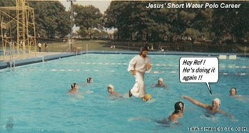 jesus water polo