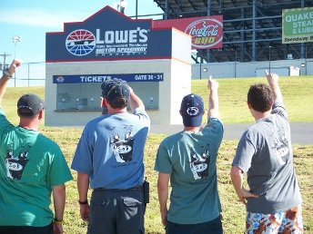 chuck h lowes motor speedway back