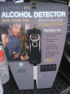 Alcohol Detector