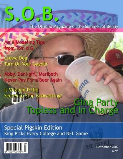 S.O.B. Magazine Cover
