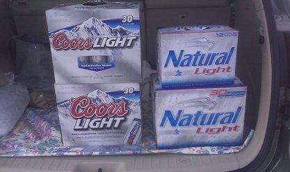 102 pack of beer
