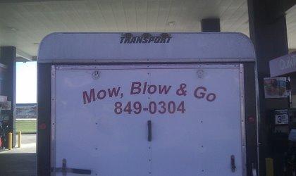 Lawn Care Truck
