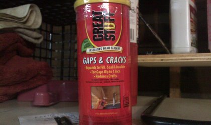 gaps and cracks bottle